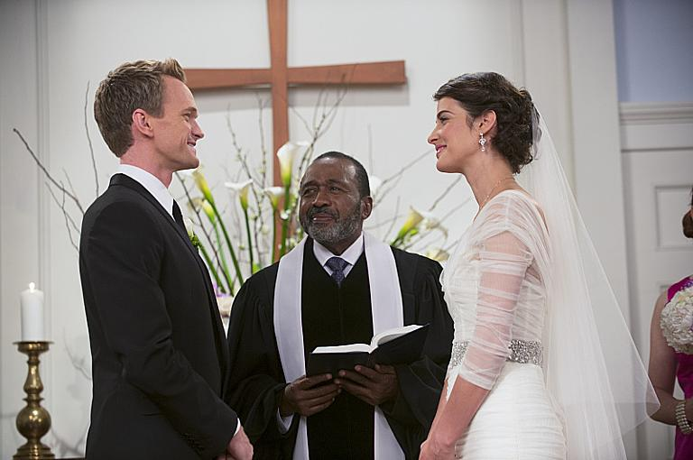 Neil Patrick Harris As Barney Cobie Smulders Robin In How I Met Your Mother Himym Wedding