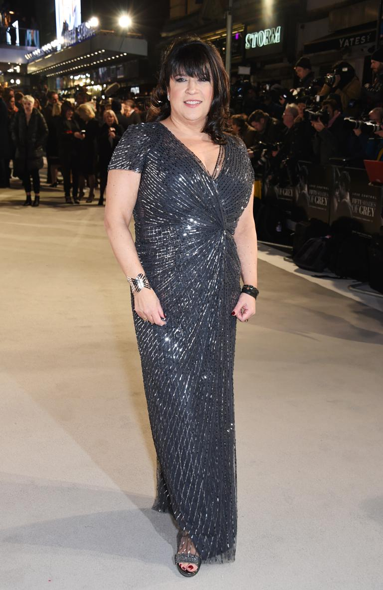 E L James Attends The Uk Premiere Of Fifty Shades Grey