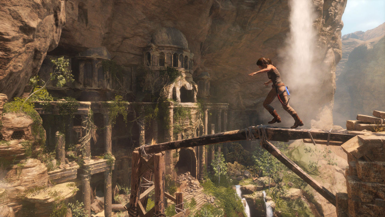 Rise of the Tomb Raider Review   Entertainment Fuse Xbox Lost Fuse Puzzles on