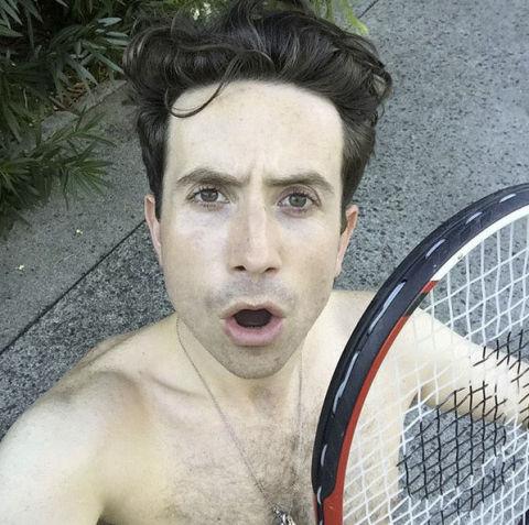 Nick Grimshaw selfie