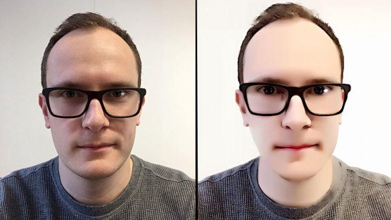 Beauty Model selfie fail
