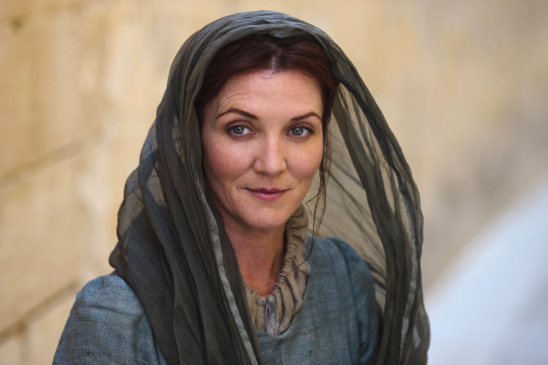 Michelle Fairley como Catelyn Stark en Juego de tronos