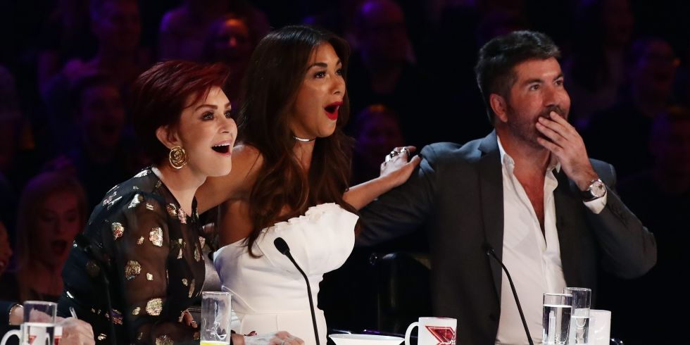 The X Factor Judges Looking Shocked During Live Shows