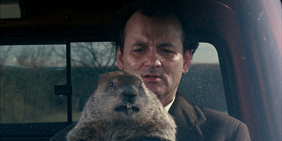 Groundhog day movie image