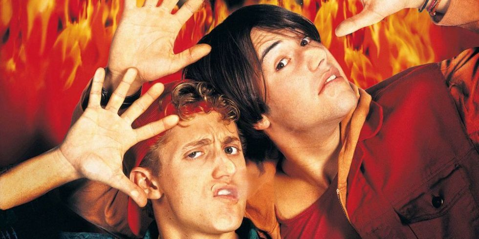 Bill and ted hell