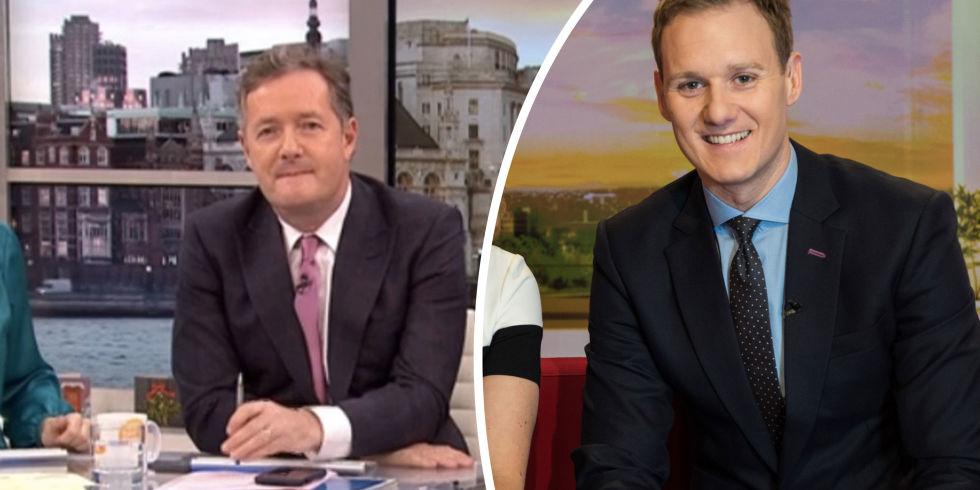 Piers Morgan, Dan Walker, BBC Breakfast feud
