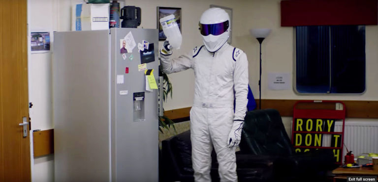 BBC's Top Gear season 25 - The Stig