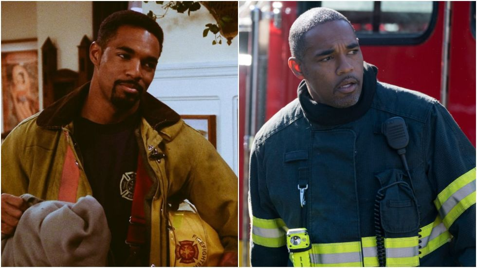 Before he played a firefighter on Grey's Anatomy spin-off Station 19, Jason George played a firefighter on Friends. Man's got mad range. (Just kidding – we love ya, Jase.)