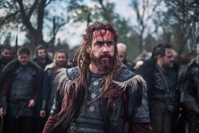 The Last Kingdom Ola Rapace as Danish warrior Bloodhair