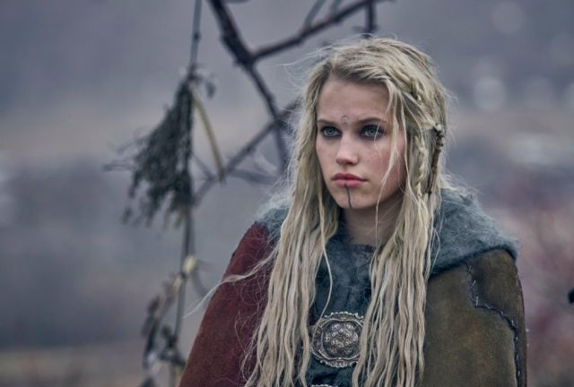 The Last Kingdom Thea Sofie Loch Næss as the dangerous seer Skade